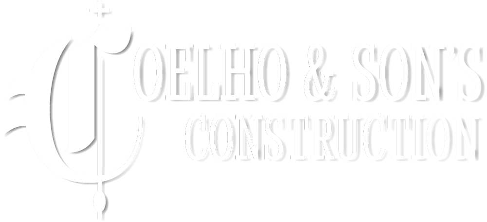 Coelho & Son's Construction logo and link to Home